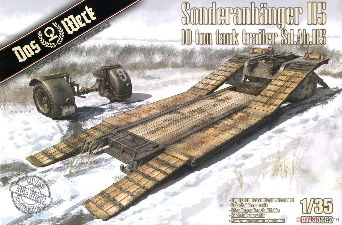 Das Werk DW35002 Sonderanhanger 115 10 Ton Tank Trailer