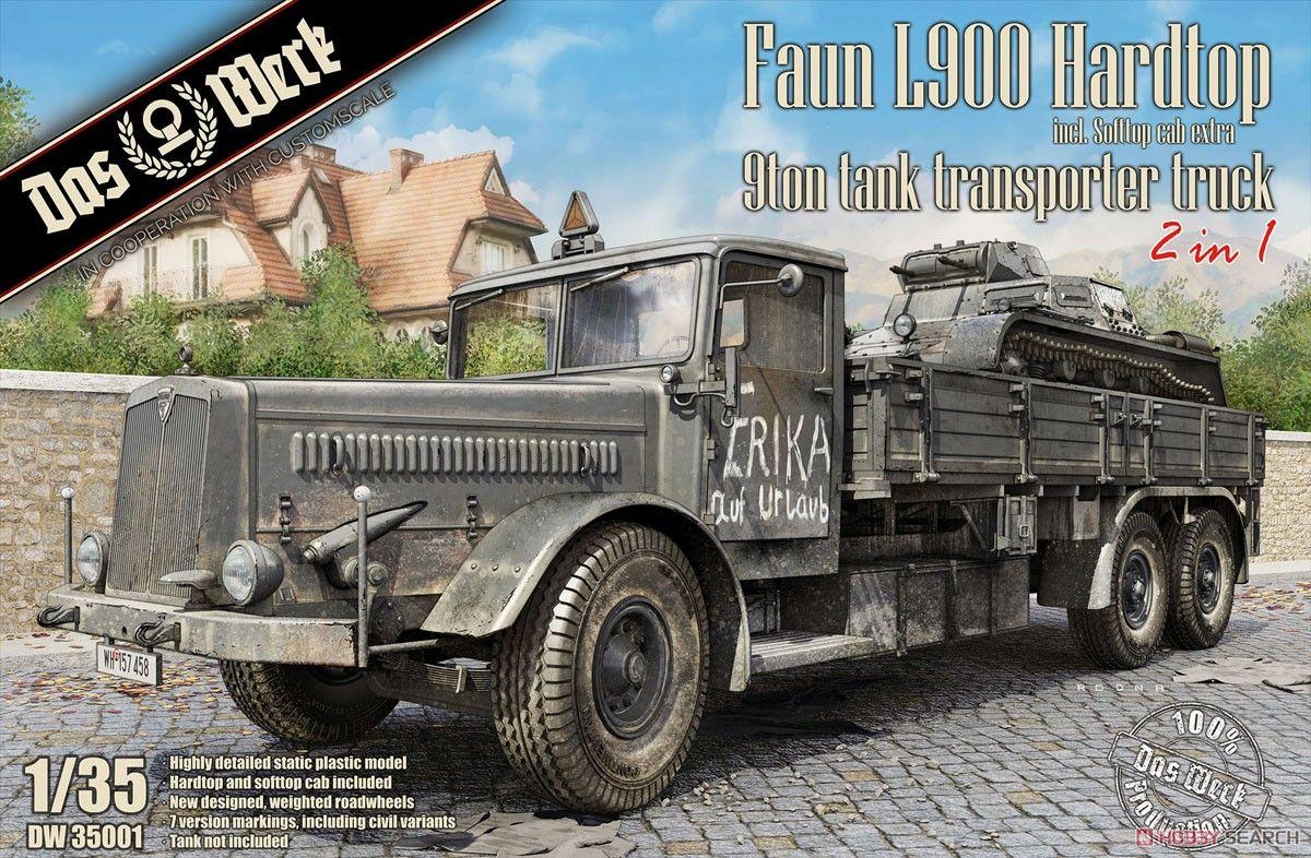 Das Werk DW35001 Faun L900 Hardtop