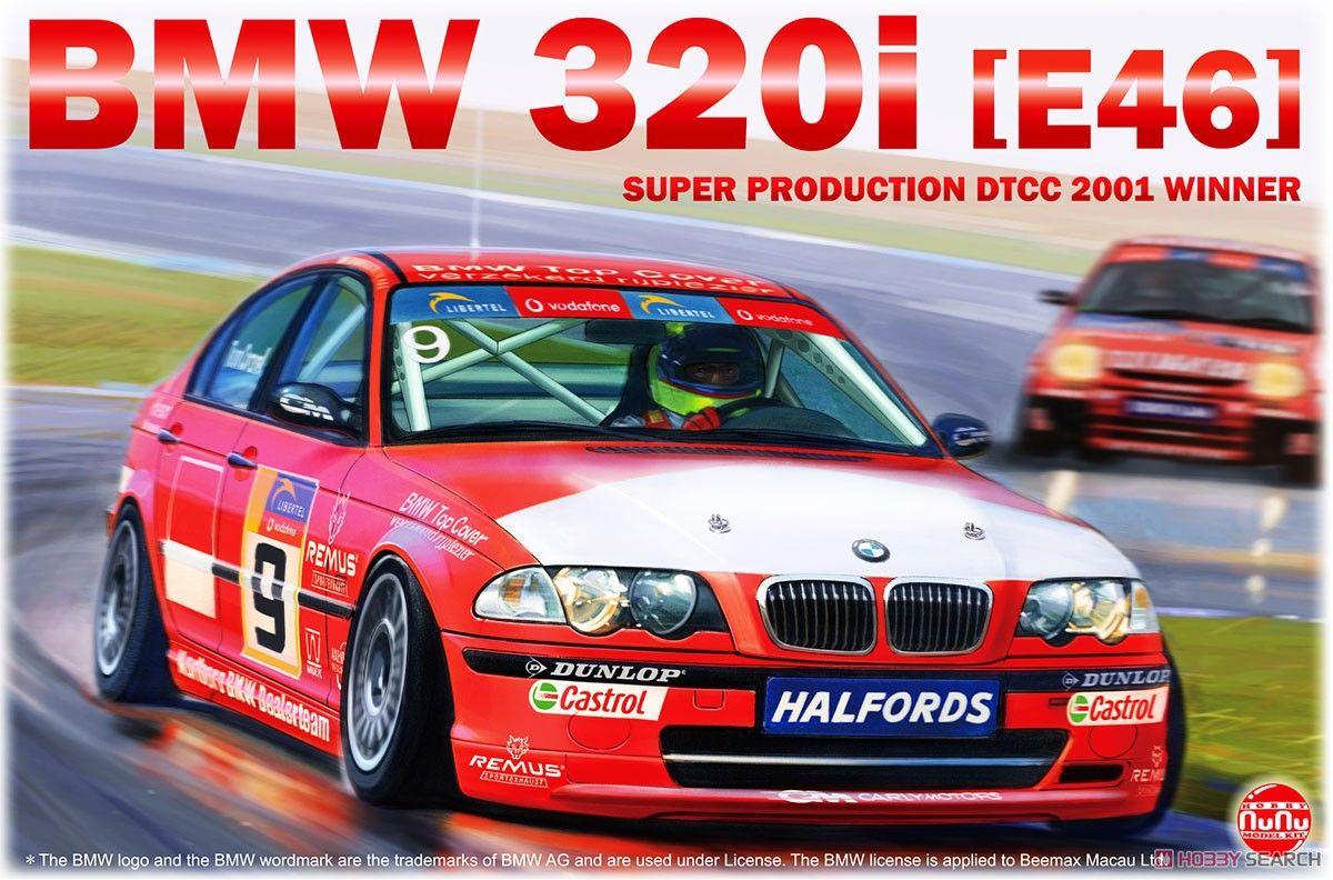 NuNu Model Kit PN24007 BMW 320i E46 DTCC 2001 Winner