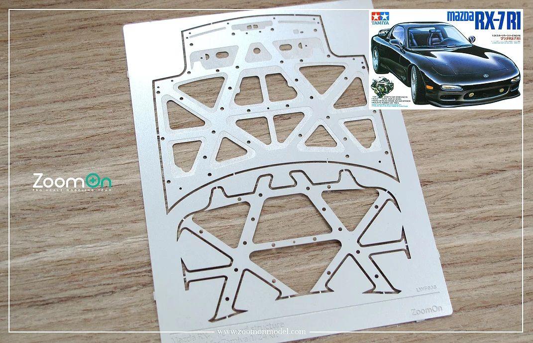 ZoomOn ZD082 Mazda RX-7 FD hood structure