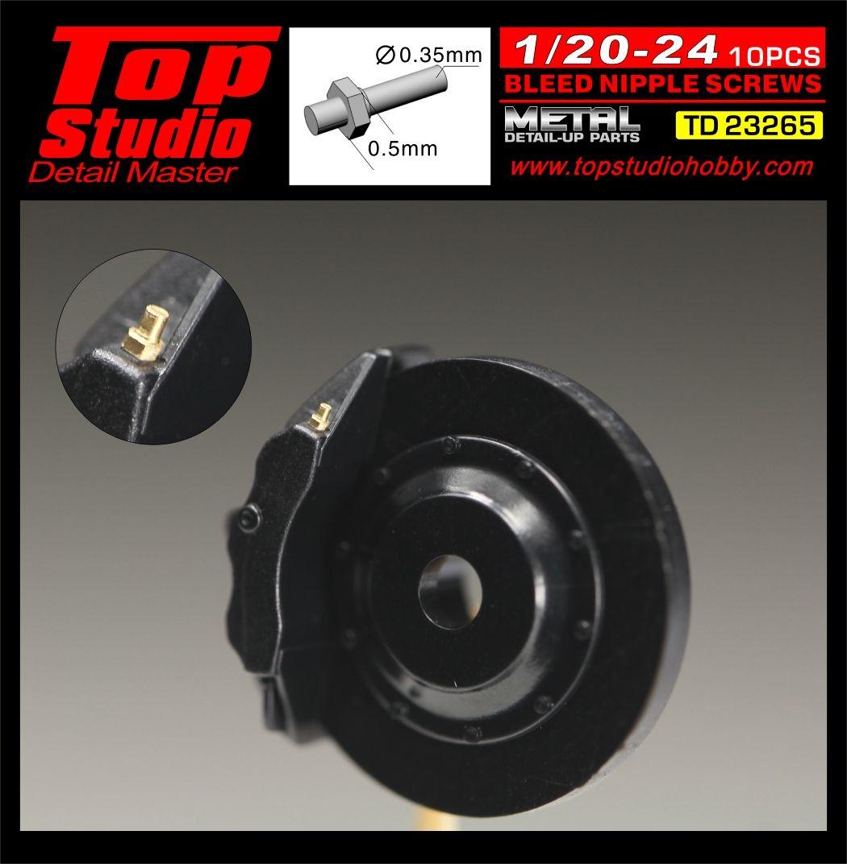 Top Studio TD23265 1/20-1/24 Bleed Bipple Screws