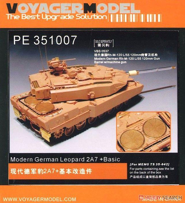 VoyagerModel PE351007 Modern German Leopard 2A7+ Basic