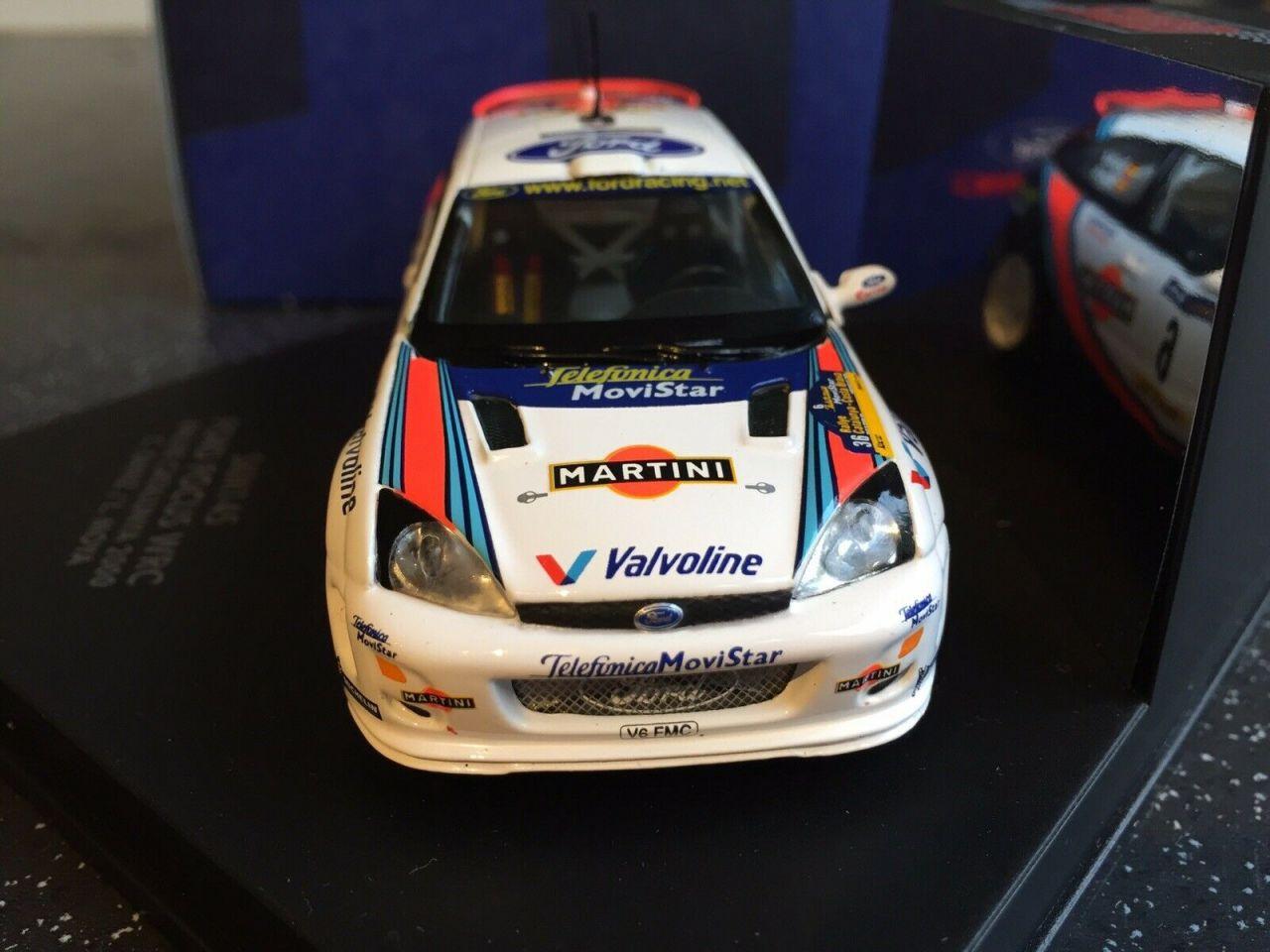 SKID SKM145 Ford Focus WRC Rallye Catalunya 2000 C.Sainz / L.Moya