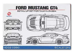 Hobby Design HD02-0390 Ford Mustang GT4