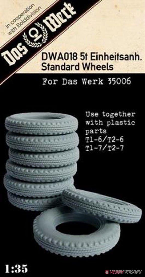 Das Werk DWA018 5t Einheitsanh. Standard Wheels