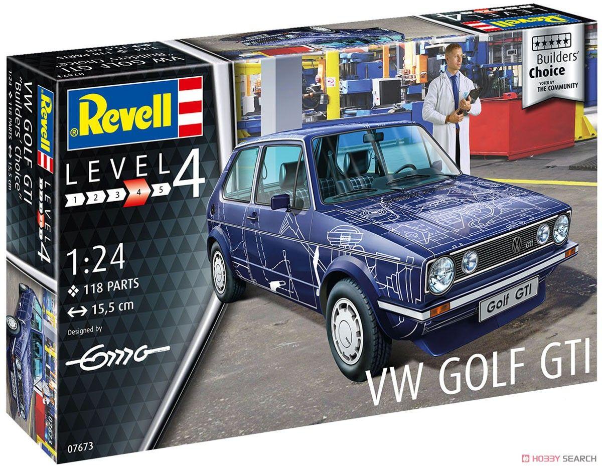 Revell 67673 VW Golf GTI Builders Choice