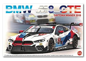 NuNu Model Kit PN24010 BMW M8 GTE 2019 Daytona 24 Hours Winner