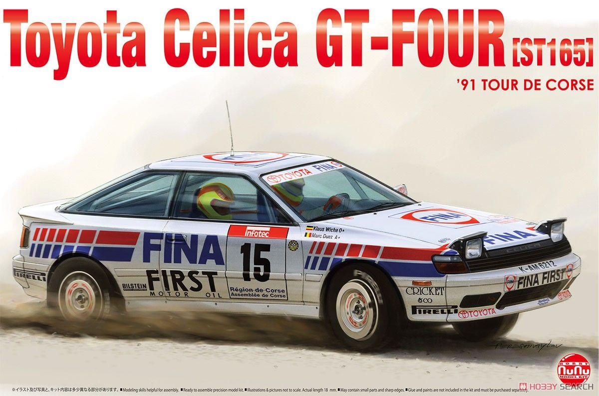 NuNu Model Kit PN24015 Toyota Celica GT-FOUR ST165 Rally 1991 Tour de Corse