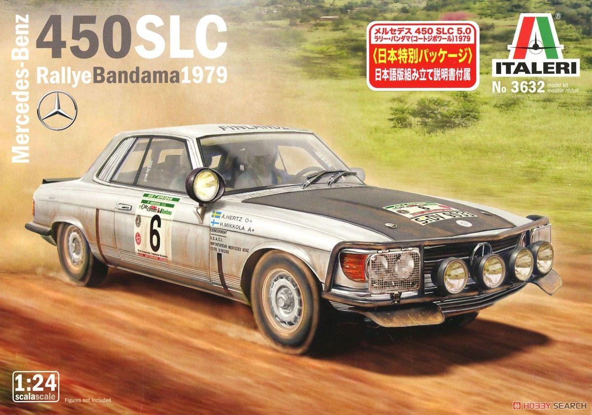 Italeri 03632 Mercedes-Benz 450SLC Rally Bandama 1979