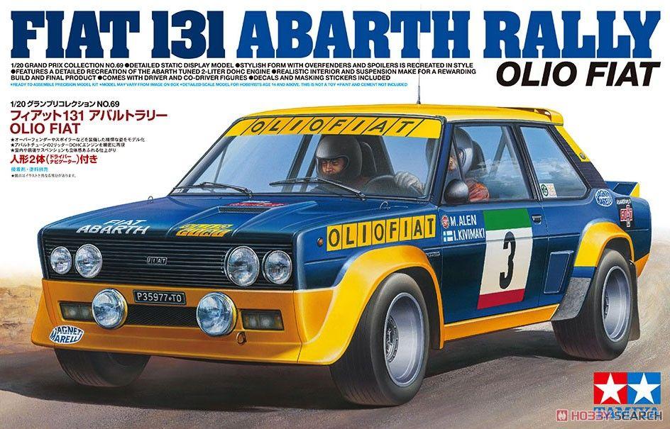 Tamiya 20069 Fiat131 Abarth Rally Olio Fiat