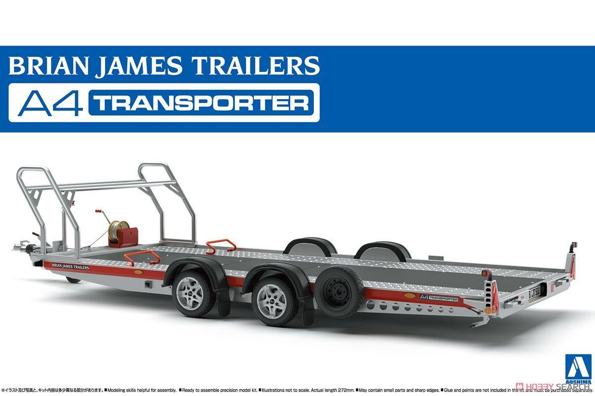 Aoshima 05260 Brian James Trailers A4 Transporter
