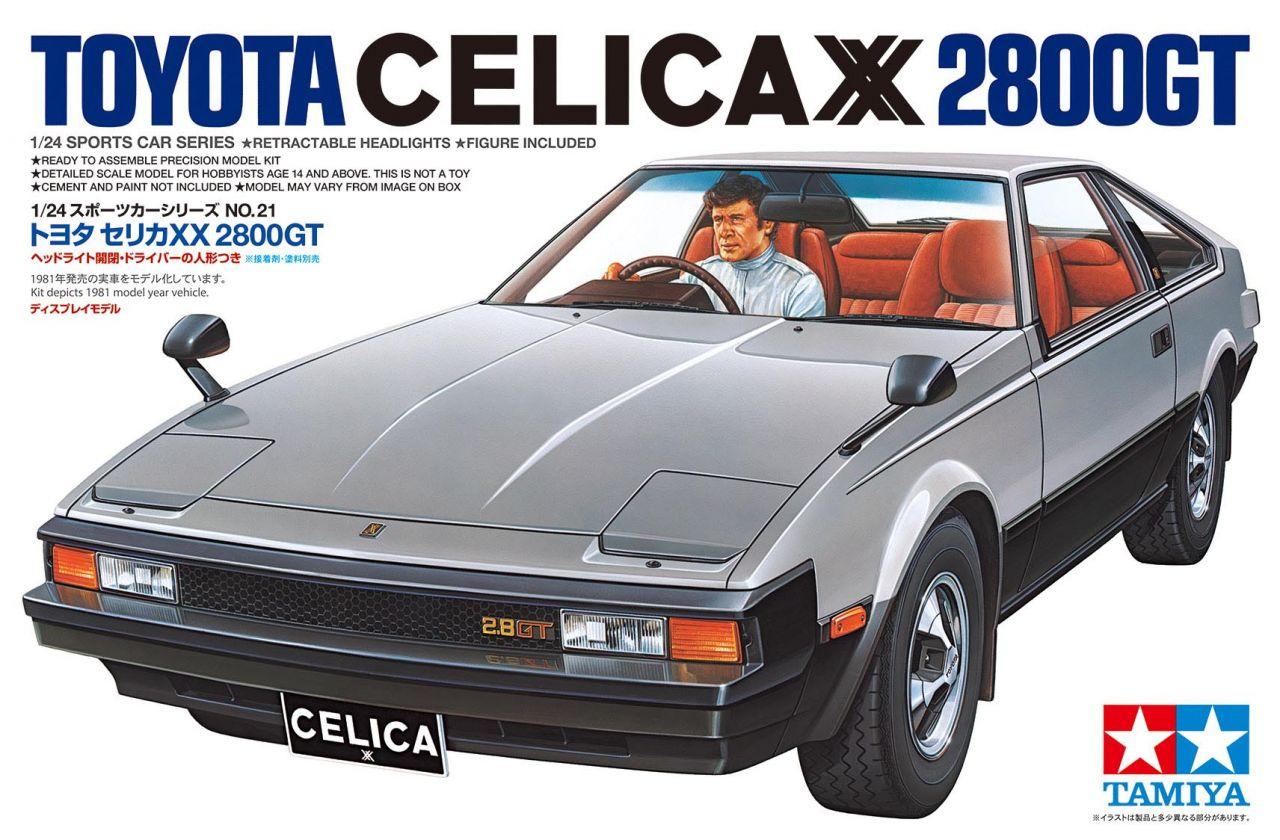 Tamiya 24021 Toyota Celica XX 2800GT