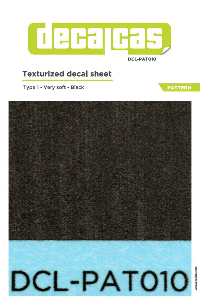 Decalcas PAT010 Texturized pattern - type 1 - Very soft