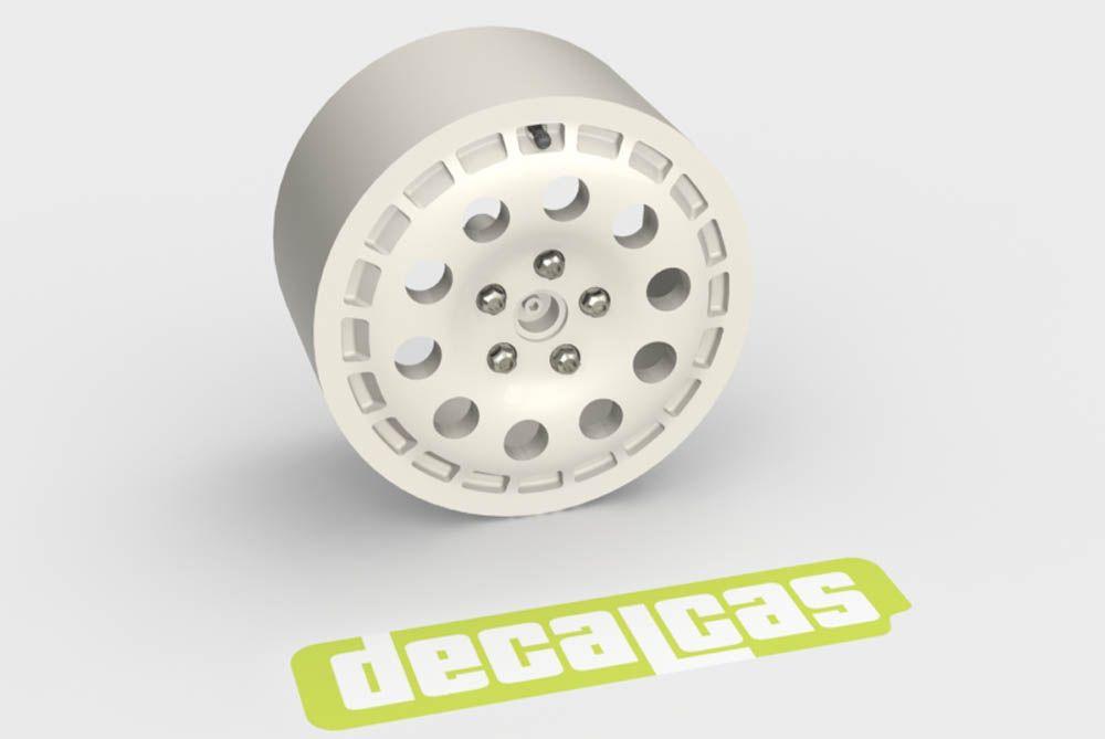 Decalcas PAR042 Speedline rims