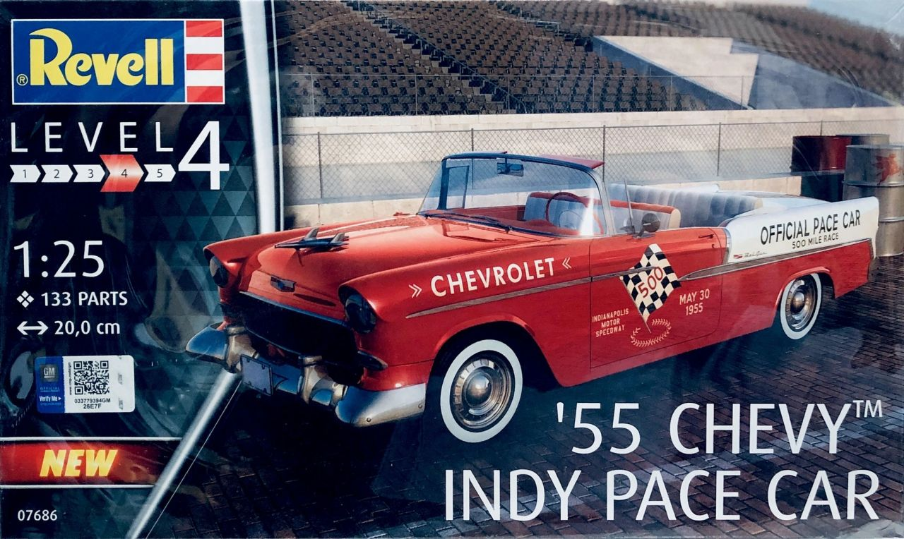 Revell 67686 Chevy Indy Pace Car 1955