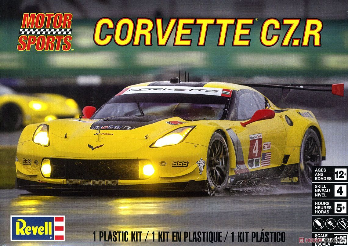 Revell 14304 Corvette C7.R