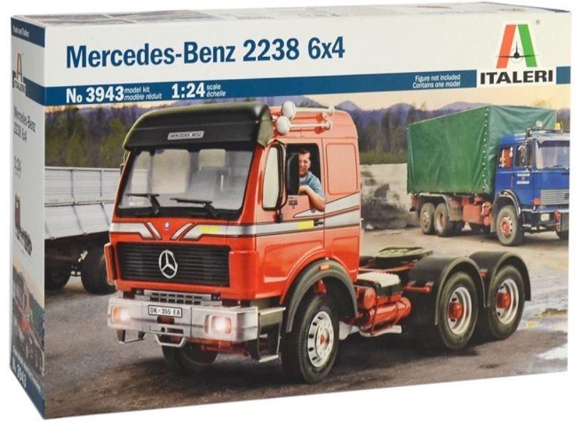Italeri 3943 Mercedes-Benz 2238 6x4