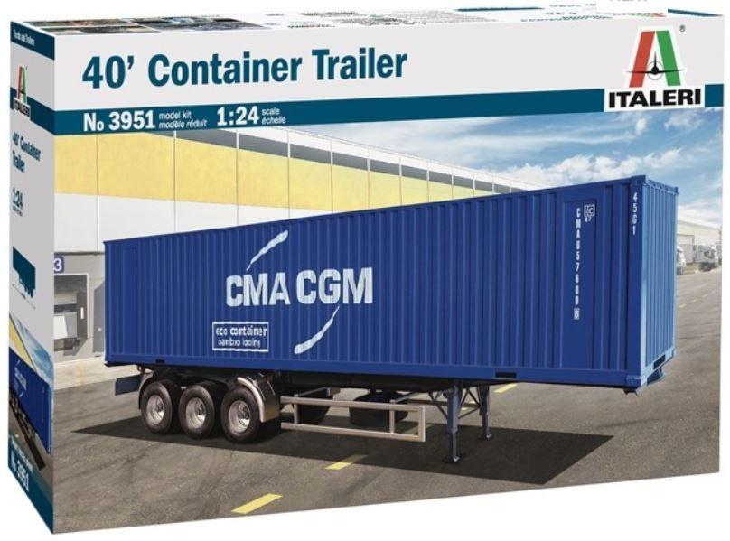 Italeri 3951 40' Container Trailer