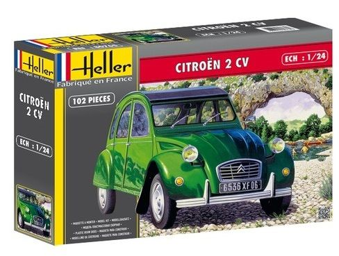 Heller 80765 Citroen 2 CV