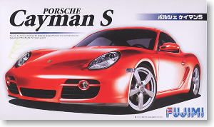 Fujimi 12281 Porsche Cayman S + Pre-Cut Window frames