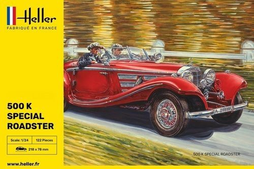 Heller 80710 Mercedes 500 K Special Roadster