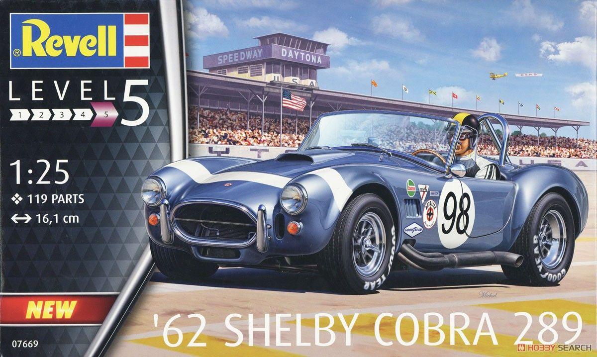 Revell 07669 1962 Shelby Cobra 289