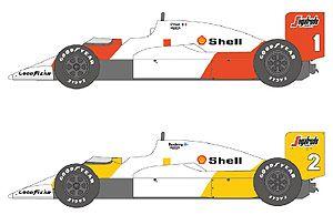 Shunko SHK-D431 McLaren MP4/2C '86 PORTUGESE GP by Nunu