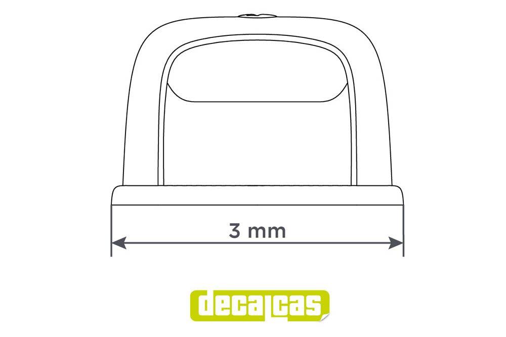 Decalcas PAR032 Hella plate lights 1/24