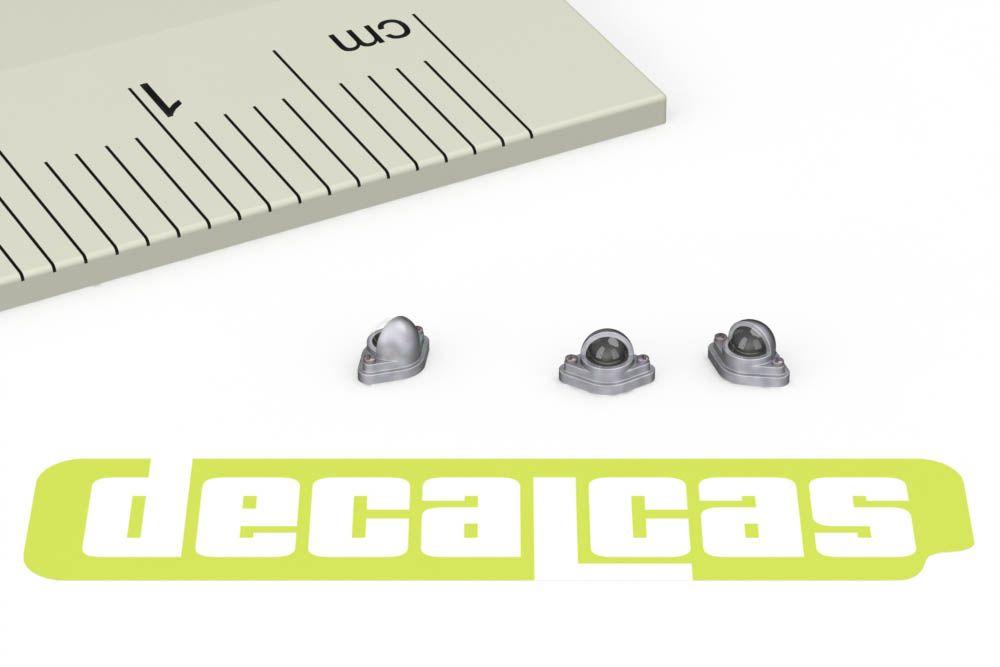 Decalcas PAR033 Lucas plate lights 1/24