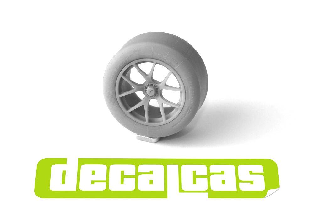 Decalcas PAR037 BBS Rims and tyres for Ford GT