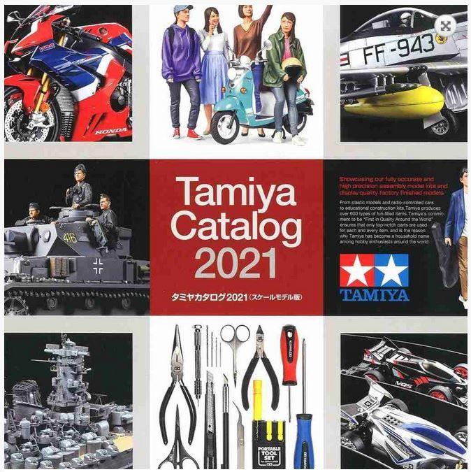 Tamiya KAT2021 Katalog Tamiya 2021
