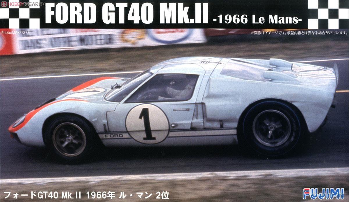 Fujimi 12604 Ford GT40 Mk-II `66 LeMans 2nd