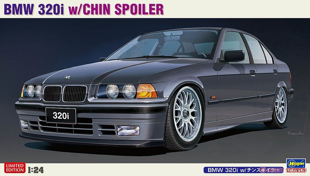 Hasegawa 20491 BMW 320i with Chin Spoiler