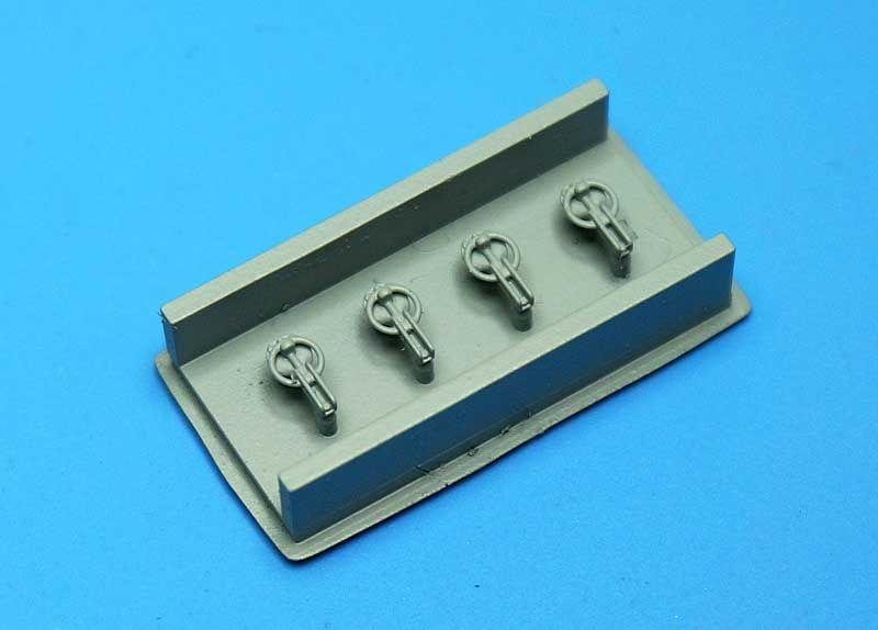 Fat Frog MD20001 Slide Type Captive Hood-Pin (x4)