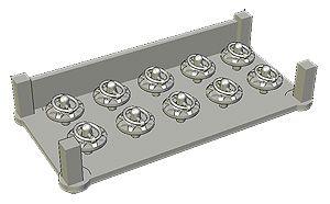 Fat Frog MD24002 Universal Hood-Pin (Type 1) (x10)