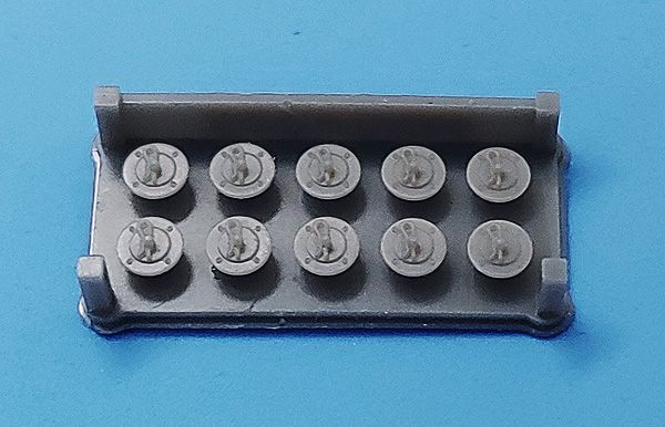 Fat Frog MD24003 Universal Hood-Pin (Type 2) (x10)