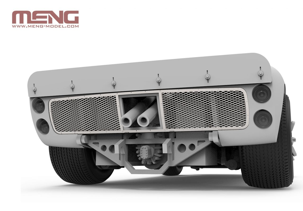 Meng CS-004 Ford GT40 Mk.II '66