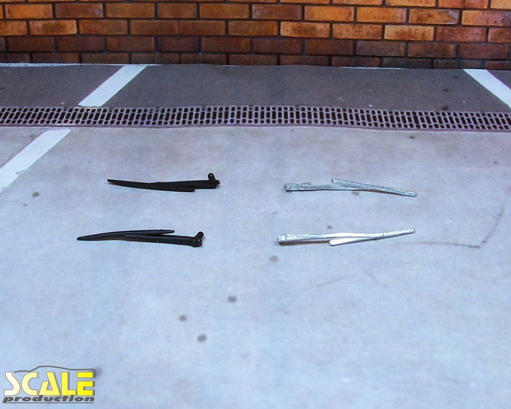 Scale Production SP24297 2 windshield wipers