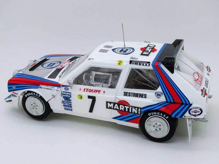 Model Factory Hiro K545 Delta S4 Ver.B 1986 WRC Rd.5 Tour de Corse