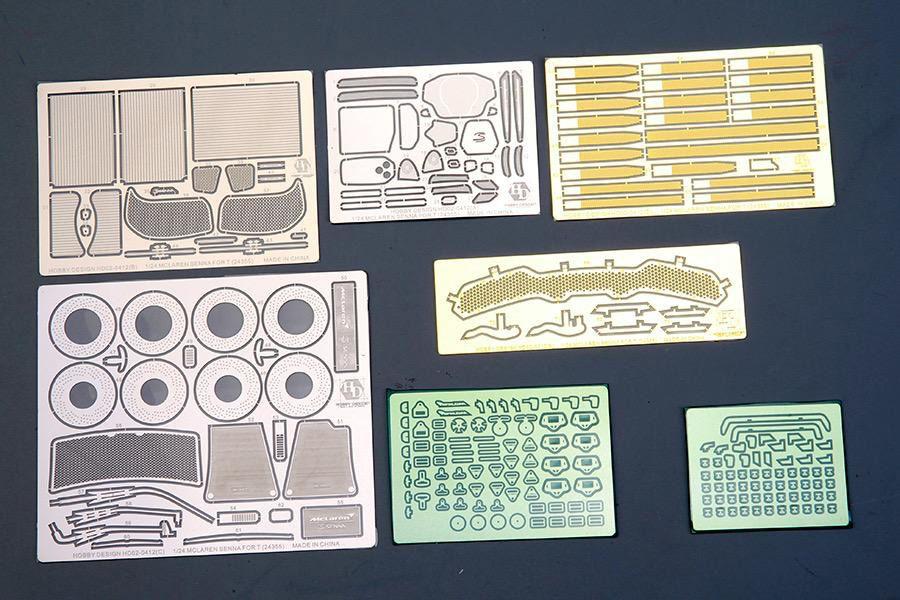 Hobby Design HD02-0412 Mclaren SENNA Detail-up Set