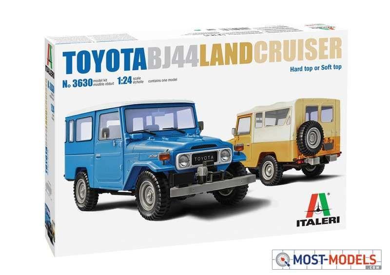 Italeri 3630 Toyota Bj44 Land Cruiser 2in1