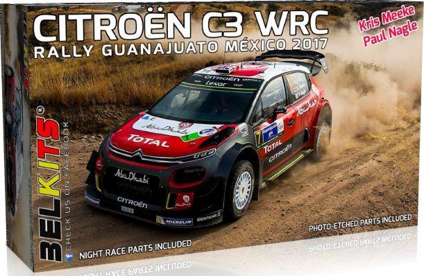 Belkits BEL018 Citroen C3 WRC Rally Guanajuato Mexico 2017