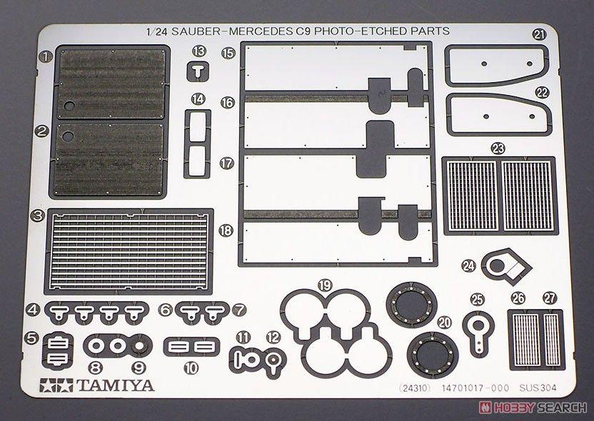 Tamiya 24359 1989 Sauber-Mercedes C9