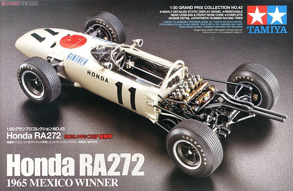 Tamiya 20043 Honda RA272 1965 Mexico Winner
