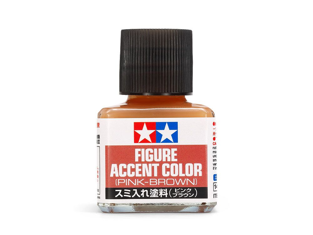 Tamiya 87201 Figure Accent Color Pink-Brown (40ml)