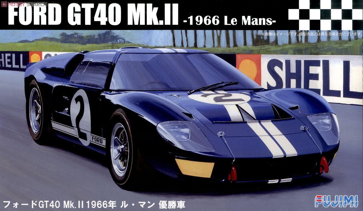 Fujimi 12603 Ford GT40 Mk-II `66 LeMans Winner