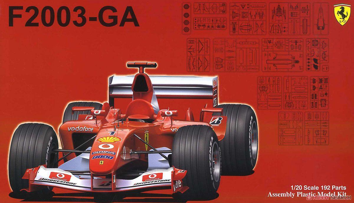 Fujimi 09209 Ferrari F2003-GA (Japan, Italy, Monaco, Spainl GP)