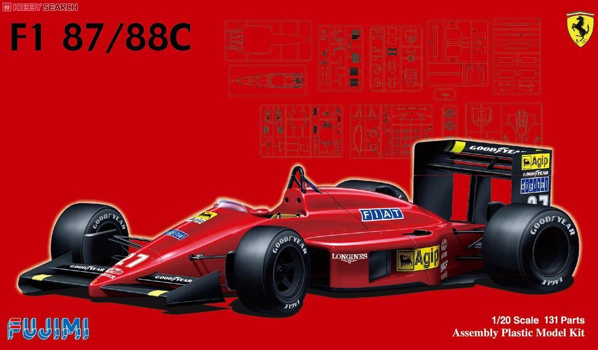 Fujimi 09198 Ferrari F1-87-88C