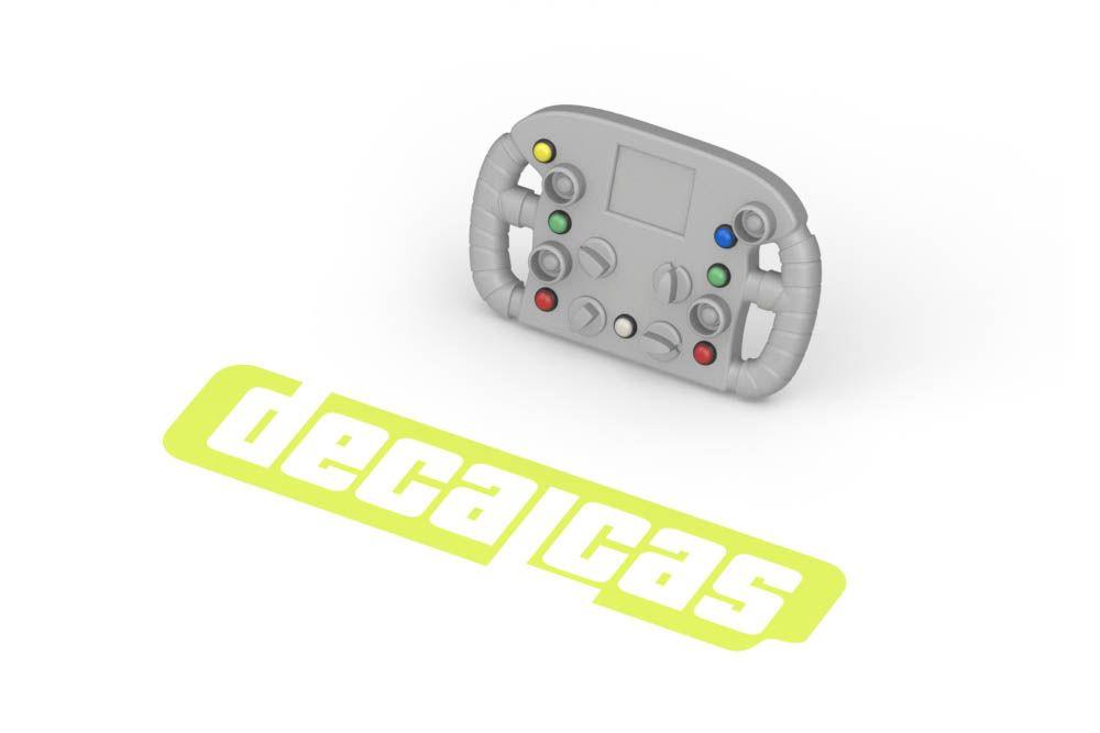 Decalcas PAR043 1/20 1/24 Push buttons (type 02)