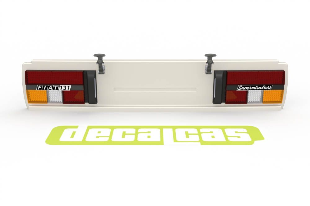 Decalcas PAR045 1/20 Tail and lights upgrade for Fiat 131 Abarth